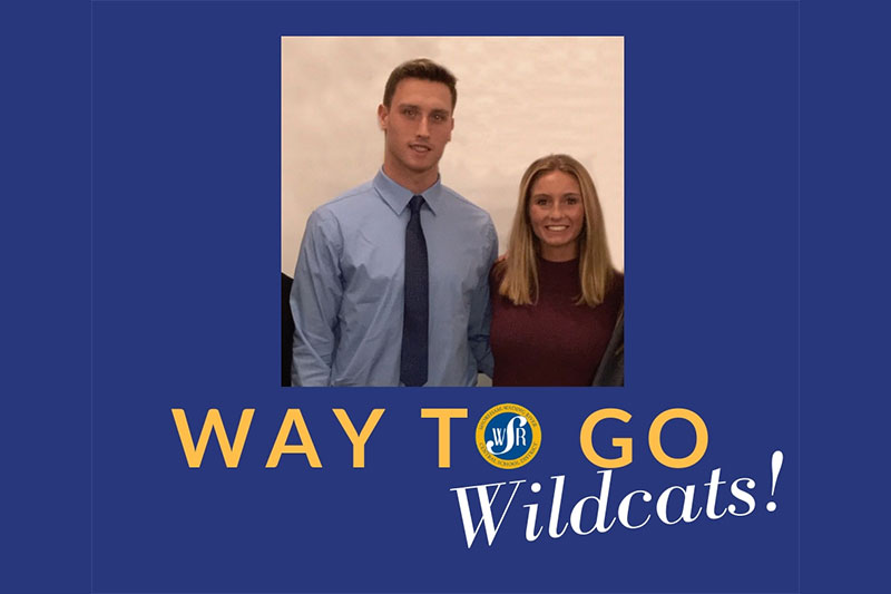 Character and leadership lead two Wildcats to Suffolk County honors photo