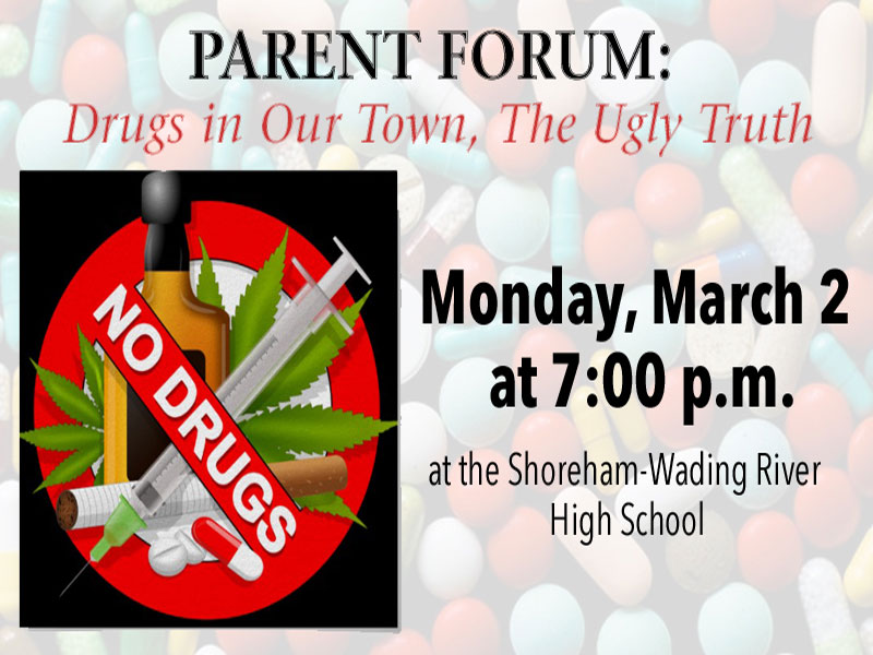 Parent Forum: 'Drugs in Our Town: The Ugly Truth'