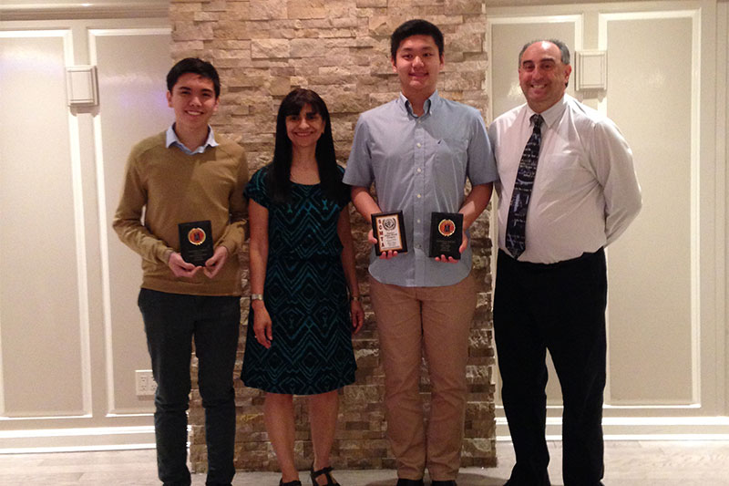 Students honored for mathematical excellence