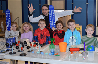 Unique science lessons for Miller Avenue students photo