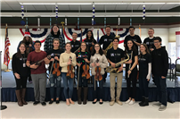 High School Students Share the Gift of Music photo