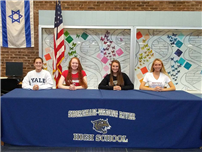 Athletes Commit to Colleges Photo