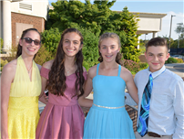 Eighth-Graders Celebrated Photo