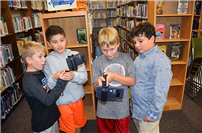 A new dimension to learning: Augmented Reality program piloted at Wading River Elementary School photo