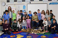 Wading River students explore Native American technology photo