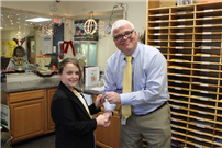 Wading River School student takes leadership role as 'Principal for the Day' photo 2
