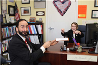Wading River School student takes leadership role as 'Principal for the Day' photo 3