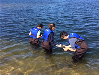 SWR HS students participate in Day in the Life of the Peconic Estuary program photo 3