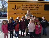 Focusing on bus safety at Miller Avenue School photo 2