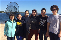 SWR HS students participate in Day in the Life of the Peconic Estuary program photo