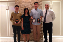 Students honored for mathematical excellence photo